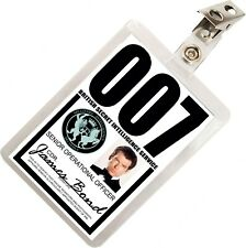 James Bond 007 MI6 SIS ID Badge Name Tag Card Prop for Costume & Cosplay JB-1