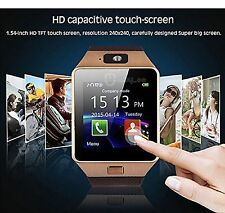 BLUETOOTH SMART WATCH PHONE WITH GSM SIM+CARD SLOT SUPPORT ANDROID IOS PHONE