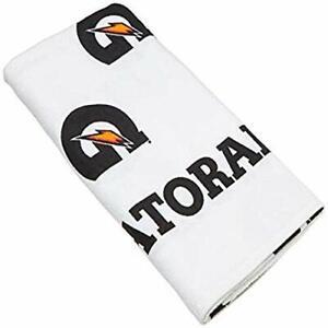 "Gatorade G Towel, 22"" x 42"", White/Black/Orange"
