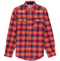 Billionaire Boys Club Polaris T Shirt Long Sleeve Knit High Risk Red 891-7601