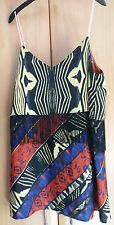 L@@K NWT RIVER ISLAND HIPPIE BOHO STRAPPY FRINGED MULTI TOP/DRESS? RRP £25