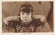BABY PEGGY, CHILD FILM ACTRESS IN COSTUME, ROSS VERLAG REAL PHOTO PC c 1920's