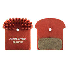 Bicycle Brake Pads Kool Stop Disc Shimano XT SLX Aero-Kool Organic M985/785/975
