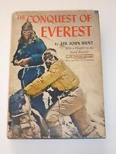 The Conquest Of Everest - Sir John Hunt, 5 Signed Hillary Hunt Lowe Morris Evans