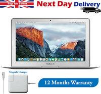 "Apple MacBook Air 11.6"" Laptop 1.6GHz Intel Core 2 Duo 4GB RAM 64GB SSD A1370"