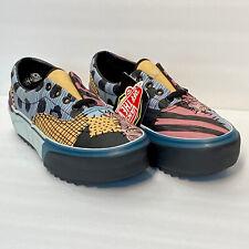 VANS Nightmare Before Christmas Sally Era Stacked Platform Shoes Woman 6.5 NEW