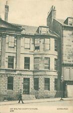 More details for rare sir walter scott's house, edinburgh postcard. undivided back. 1900s