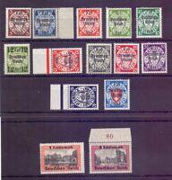 Dt. Reich 1939 - Danzig - MiNr. 716/729 postfrisch** - Michel 220,00 € (771)