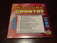 CHARTBUSTER KARAOKE COUNTRY HITS OF THE MONTH 60445 JANUARY 2011 CD+G 12 TRACKS
