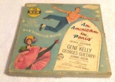 Old Vintage MGM Set Of 4 Records W/Box An American In Paris George Gershwin