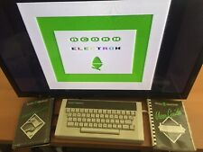 Acorn Electron with books, leads and 4 Acornsoft games - tested and working
