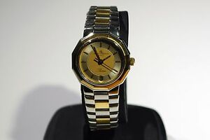 Baume & Mercier Ladies Riviera Date Two Tone Stainless and 18K Gold Watch