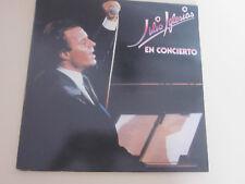 JULIO IGLESIAS  EN CONCIERTO ..ALBUM 2 DISQUES