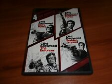 Dirty Harry Collection: 4 Film Favorites (DVD, 2010, 4-Disc Widescreen) Used