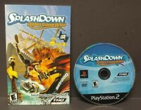 Splashdown Rides Gone Wild  - Sony Playstation 2 PS2 Game Lot Tested / Working