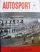 AUTOSPORT OTTOBRE 2nd 1959 * oulton Park GOLD CUP *