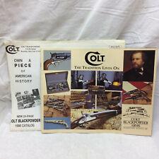 1998 Catalog Colt Blackpower New York