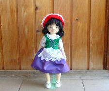 """doll felted woolen """"Red riding hood"""""""