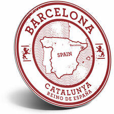 Awesome Fridge Magnet - Barcelona Catalunya Spain Espana Map Cool Gift #5723