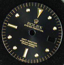 ORIGINAL ROLEX  1675 GMT-MASTER 18K TWO TONE BLACK NIPPLE DIAL FOR CAL.1570