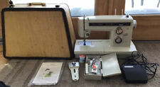 Sears Kenmore Portable Sewing Machine W/ Foot Pedal Model 158. 19410 Vtg 1970's