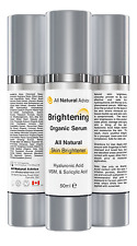Brightening SERUM with Hyaluronic Acid | Canadian Made | Reduces Sun Spots