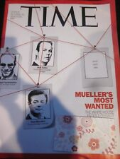 Time Magazine November 13 2017 - Mueller's Most Wanted