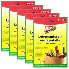 5x2 Mites Alimentaires Pheromonfallen Lebensmittelmottenfalle Mehlmotten Boîte
