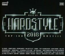 HARDSTYLE TOP 100-BEST OF 2018  2 CD NEUF