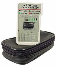 Cables Unlimited TST-5100 RJ45 Network Tester (4 Inch, Beige) CAT5