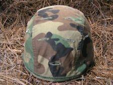 Usgi Msa Reversible Helmet Cover ! Woodland/Desert ! Medium/Large ! Very Good !