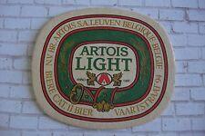 Beer Bar Collectible Coaster ~ Stella ARTOIS Light ~ Leuven, BELGIUM Since 1366