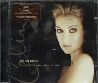 Celine Dion - Let's Talk About Love (Titanic Theme) con sticker CD Ottimo