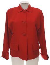 Versace Jacke rot 40 (D) ? Wolle Seide ? Blazer Sakko top red jacket