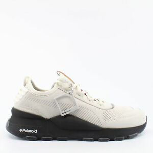 Puma RS-0 x Polaroid Beige Suede Leather Mens Lace Up Trainers 368436 01