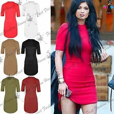 Polo Neck Party Stretch, Bodycon Dresses for Women