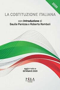 9788833393452 La Costituzione italiana. Aggiornata a gennaio 2020