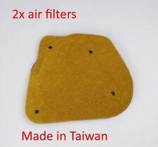 air filter 2x for Yamaha YW50 2T  BWS 50  Zuma 50 YW50 4VP BWS 100
