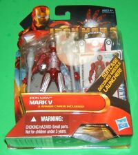 Iron Man 2 Movie Series #11 IRON MAN MARK V Action Figure NIB