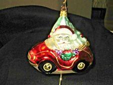 Old World Christmas By Inge Glas-Birgit Santa'S Roadster