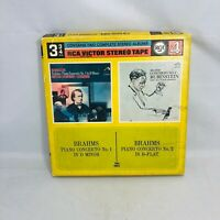 RCA Victor Stereo Tape 3 3/4 Reel Arthur Rubinstein 2 Complete Stereo Albums