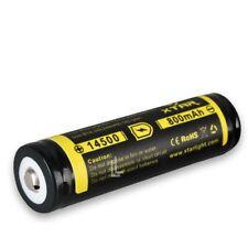 Abverkauf XTAR 14500 800 mAh 3,7 V Li-Ion-Akku mit PCB für LED-Taschenlampen