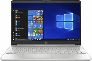 "HP 15s-fq1000na Laptop Intel Core i3-1005G1 4GB RAM 128GB SSD 15.6"" FHD Win 10 S"