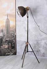 Retro Lampe Vintage Standlampe Stehleuchte Industriedesign Metall Leuchte Fabrik