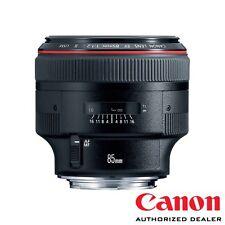 Canon EF 85mm f/1.2L II USM Lens ***USA AUTHORIZED***