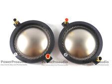 2pcs Replacement Diaphragm for B&C DE900, DE910, DE950, Driver Titanium 16 Ω