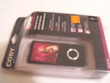 Coby MP705-8G Flash Video MP3 Player with FM Radio Touchpad Interface Black NEW