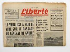 Liberté n°18- 1963 - Quotidien du parti Communiste - Charles Deregnaucourt