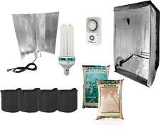80x80x180 Complete CFL Light Kit Hydroponics Grow Room Tent Pots Soil