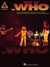 NEW Artist Songbooks: Best of the Who by The Who 2000 Paperback Book